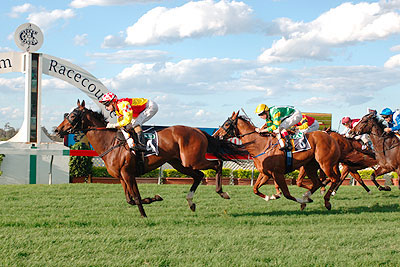 ROSE OF CIMMARON winning at Warwick Farm 2008