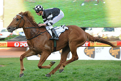 BHUTANE DANE (DANEHILL DANCER-JOLEUR) winning the Listed HERITAGE STAKES